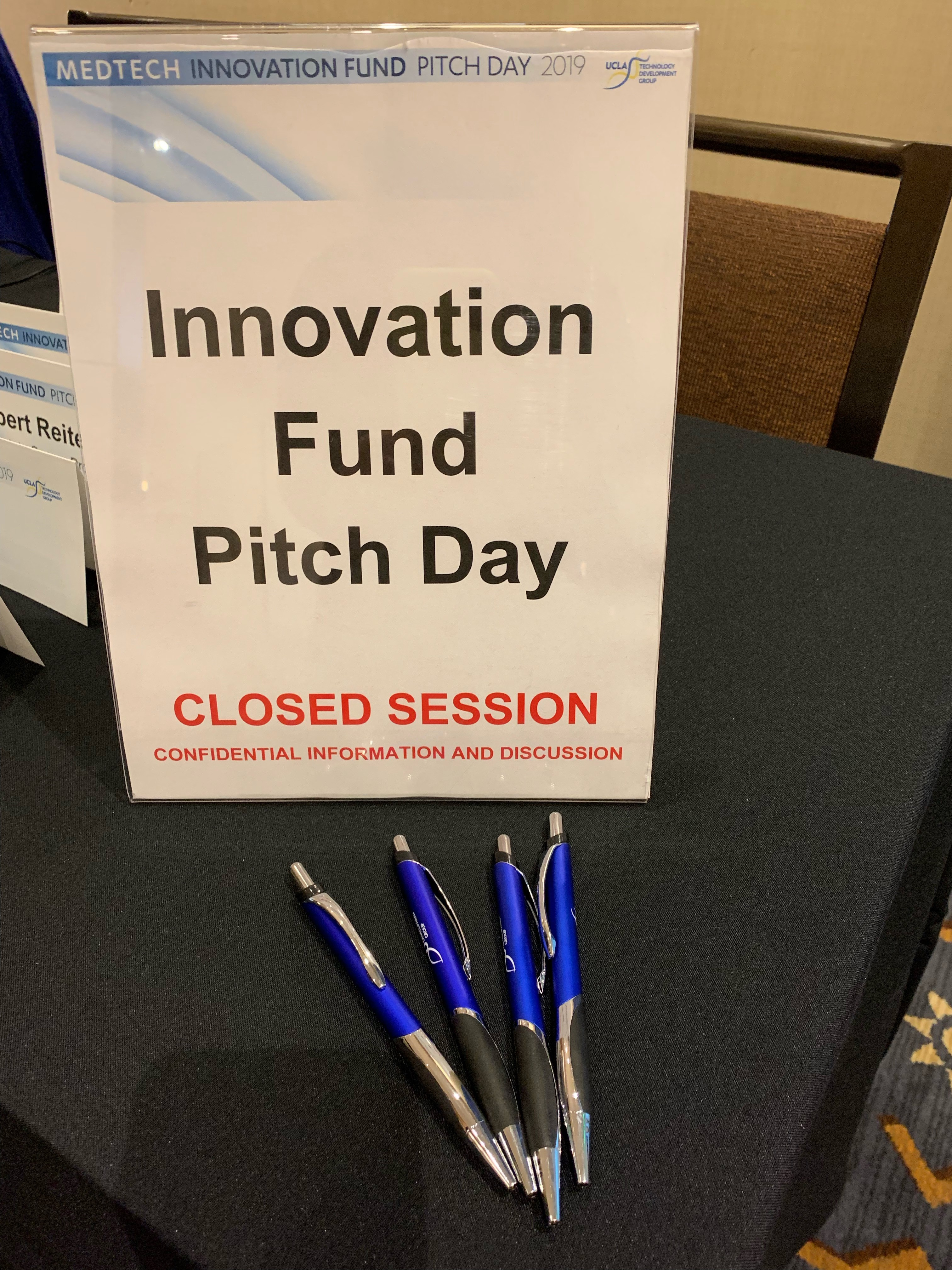 Pitch Day Sign